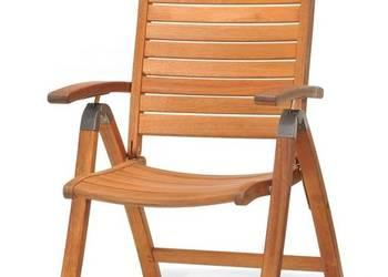 Krzeslo ogrodowe składane - drewno eukaliptus