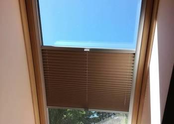 Roleta plisowana na okno dachowe