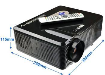 Projektor LED FILMY TV ( DVB-T ) HD 3D HDMI USB AVGA 3000 L