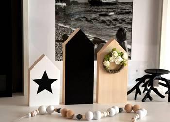 3 x domki drewniane domek z drewna