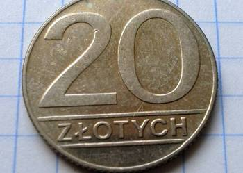 20 ZŁOTYCH 1990 ROK - POLSKA