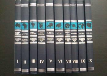 Encyklopedia Geograficzna Świata T.1-10 Komplet
