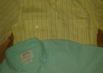 SUPER koszule BURTON i ASOS na szczupłego Rozm.S ,pachy 46 c