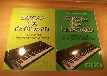 Szkoła na Keyboard dwie części oraz Poradnik  Dotyk