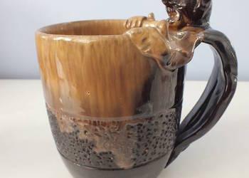 Kufel kolekcjonerski ceramika z diabłem UNIKAT!