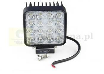 Bardzo mocny halogen 16 LED 48W do ciągników Renault,CLAAS