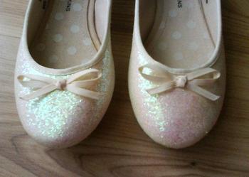 Dorothy Perkins - nowe, błyszczące baleriny NUDE