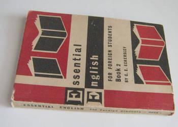 Essential english book 2, autor:  C.E. Eckersley