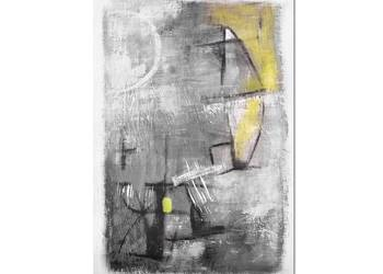 Mine 1, abstrakcja, nowoczesny obraz ręcznie malowany