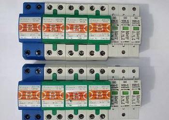 Ograniczniki przepięć Typ 1+2 serii Protection Set