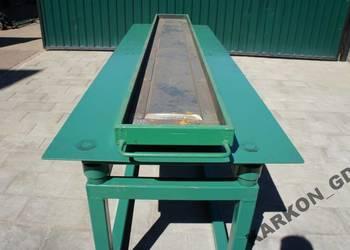 Stół wibracyjny deska podmurówka łącznik przelot
