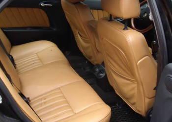 Fotele, kanapa skóra komplet Alfa 156