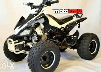 quad 125 cc carbon sport koła 8 3biegi wsteczny pilot raty
