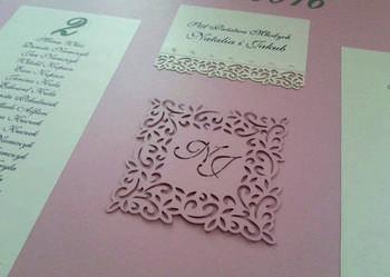 PLAN SALI WESELNEJ - tablica rozmieszczenia gości weselnych