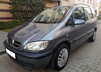 Opel Zafira A polift 2.2dti 125KM 7 osobowy klima hak
