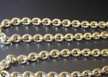 masywny złoty łańcuszek 585 14k