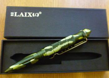 Długopis taktyczny kubotan survival - Camo gift box prezent