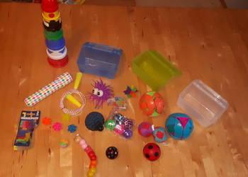 Zestaw zabawek integracja sensoryczna SI