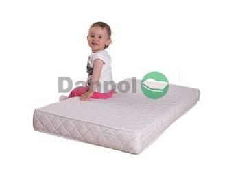 MATERAC LATEKSOWY NOWY 120x60 dziecięcy, firmy DANPOL