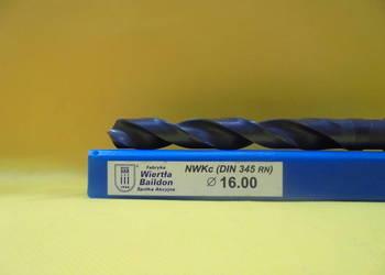 Wiertło NWKc Φ 16mm HSS DIN 345 RN !!! NOWE !!!