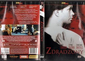 Zdradzony - DVD TANIO jak nowy