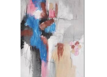 Quarry 1, abstrakcja, nowoczesny obraz ręcznie malowany