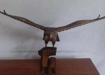 Rzeźba- drewniny orzeł