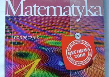 Matematyka. Klasa 1. Podręcznik - gimnazjum