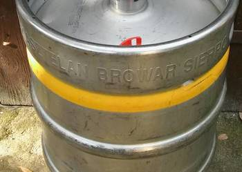 Beczka do piwa keg DIN 50l Kasztelan-Real foto.