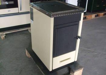 Piec kuchenny c.o. Kalvis 4 CMN -kuchnia węglowa kocioł c.o.