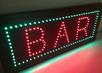 Neon szyld diodowy reklama BAR 60x25cm NOWA