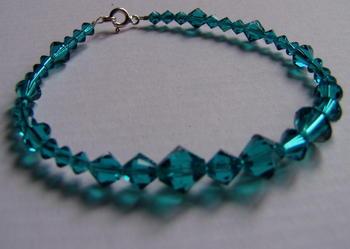 bransoletka z kryształkami  swarovski