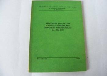 Bibliografia analityczna polskiego piśmiennictwa pedagogiki