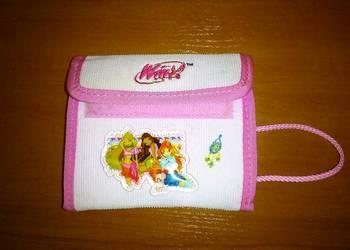 portfel dziewczęcy różowy Winx