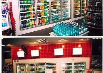 drzwi szklane chłodnicze CISAPLAST