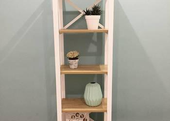 Regał loft loftowy minimalistyczny industrialny półka szafka