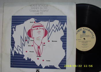 POP ; KLAUS SCHULZE--DZIEKUJE POLAND '83 ;2 LP winyl.