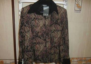 Elegancka połyskująca bluzka na różne okazje 42/44 NOWA !!!