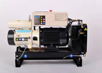 kompresor łopatkowy sprężarka łopatkowa jak hydrovane mattei