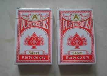 Nowe karty do gry 2 talie