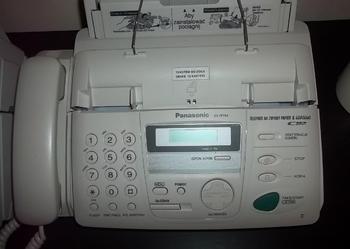 Faks Panasonic KX-FP153 oraz Urz. wielofunkcyjne HP J3680
