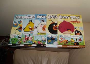Komiksy Angry Birds z łamigłówkami