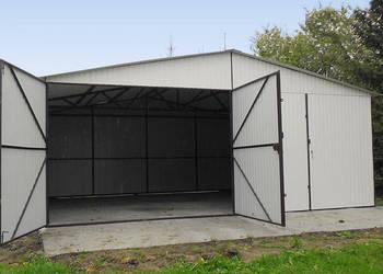 Garaże Blaszane 6x5 blaszak dwuspad ŁÓDŹ dowóz montaż gratis