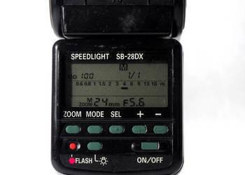 Lampa błyskowa Nikon SB-28DX + gratis