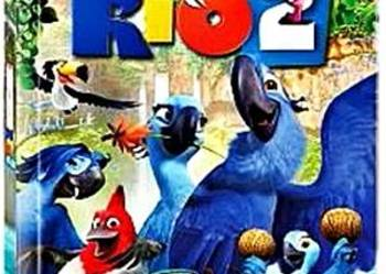 RIO 2   ( DVD + KSIĄŻKA )
