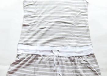 rozmiar 44 tunika z bawełny,wygodna tunika xxl,sukienka xxl