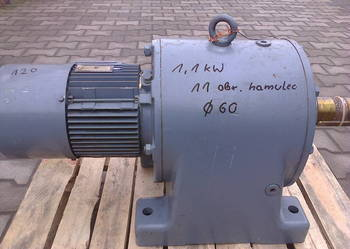 Motoreduktor 1,1 kW / 11 obr  3-faz hamulec