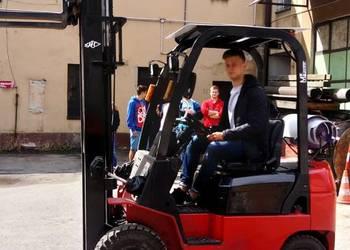 Kurs na wózki widłowe - Nowy Sącz. Najtaniej 349 zł