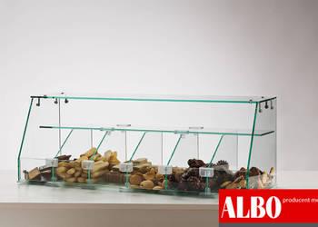 Gablotka cukiernicza nadstawka - producent mebli sklepowych