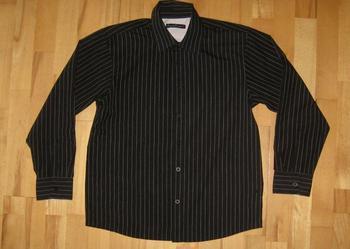 Czarna koszula dla chłopca 11 12 lat